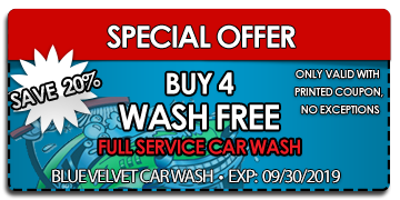 buy 4 get one car wash